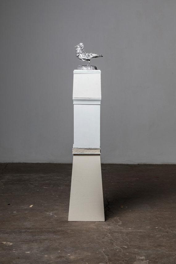 """Vogel I"" mit Sockel, 150 cm"