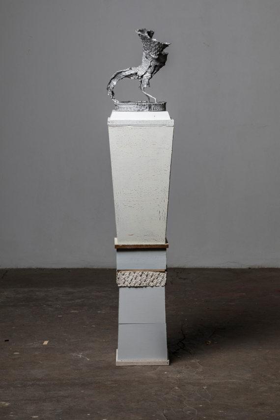 """""""Vogel II"""" mit Sockel, 150 cm"""