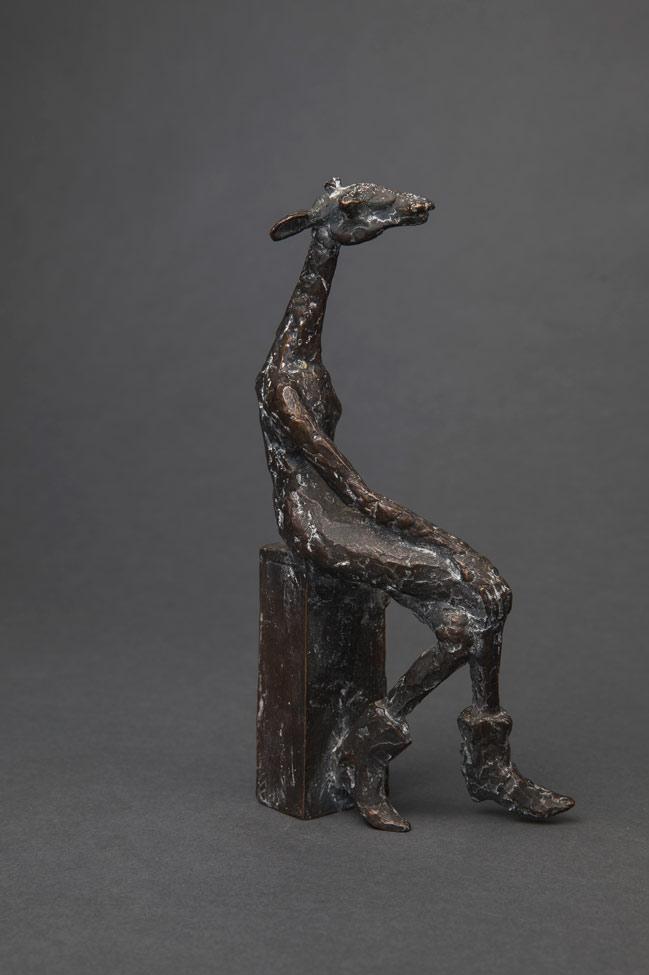 """Giraffe"", Bronze, 21 cm,  2013"