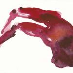 """o.T."", Aquarell, 15 x 20 cm, 2011"