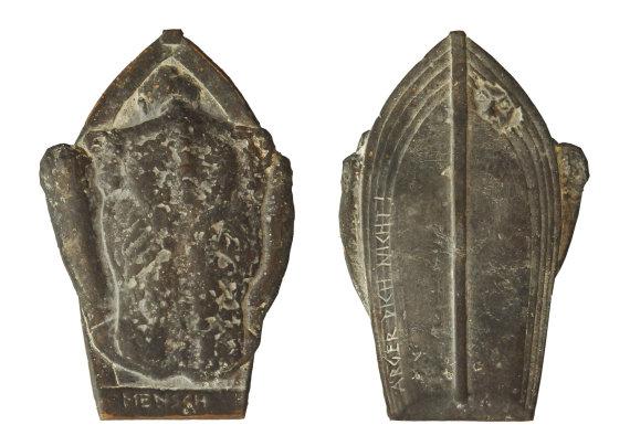 """""""Mensch ärger Dich nicht"""", Bronze, 7 x 10,7 cm, 2011"""