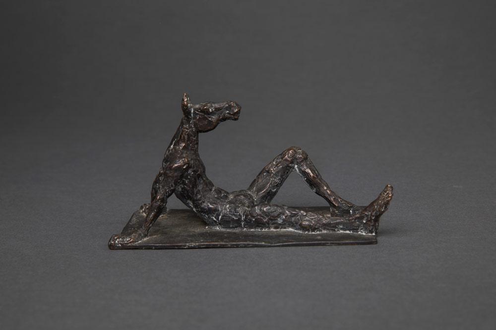 """"""" Pferd"""", Bronze, 8 x 13 x 4,5 cm, 2013"""