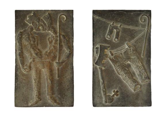 """""""Salierjahr 2011"""", Bronze, 7,7 x 12, 7 cm, 2011"""