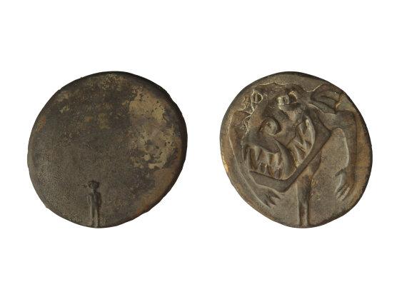 """""""Wildwuchs"""", Bronze, 7,5 x 8 cm, 2012"""